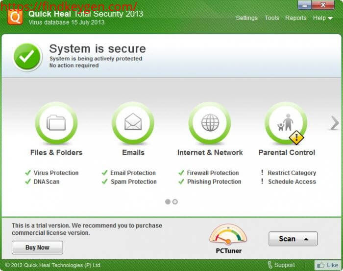 Quick-Heal-Total-Security-License Key