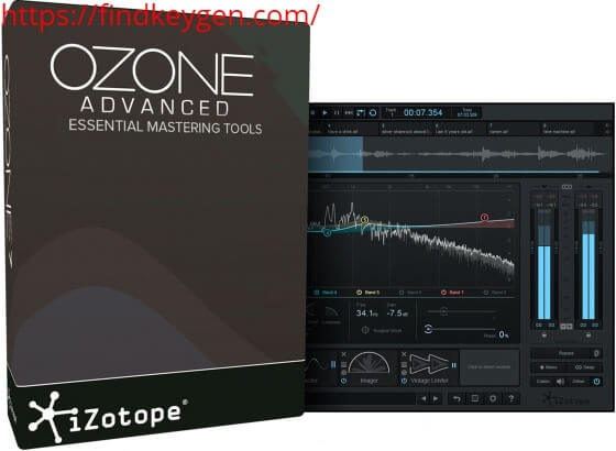 IZotope Ozone Advanced 9.1.0 Product Key With Crack Latest Version
