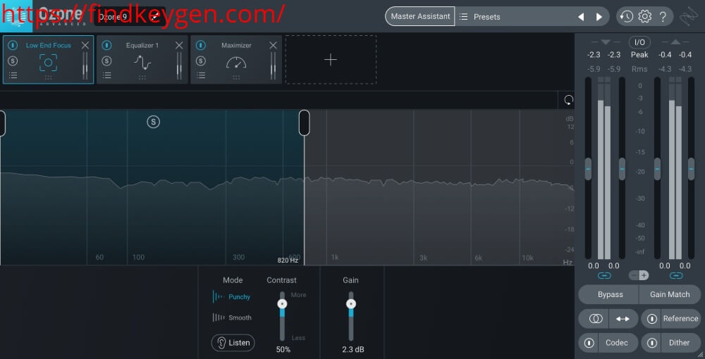 IZotope-Ozone-Advanced-Serial Key